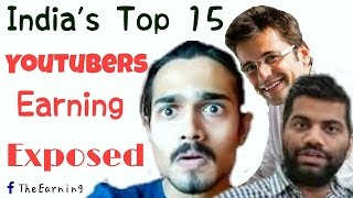 Top Youtubers in India and their earnings | List of 15 Popular Indian Youtubers of 2016 .