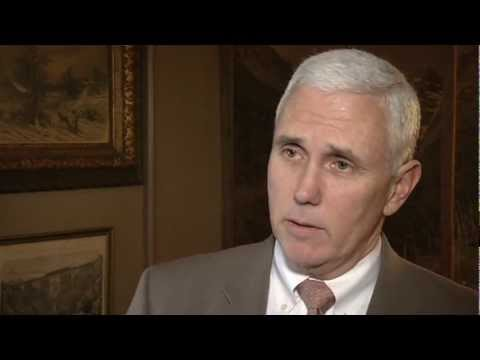 Gov. Pence Extended Interview: 10% Income Tax Reduction
