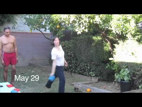 Girl from LA made her 2011 video - 365 days online