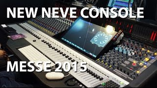 AMS Neve Genesys Black G32 Analogue Digital Recording Console Music Messe 2015 tonymckenziecom