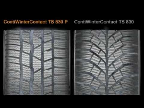 continental contiwintercontact ts 830 p aquaplaning youtube. Black Bedroom Furniture Sets. Home Design Ideas
