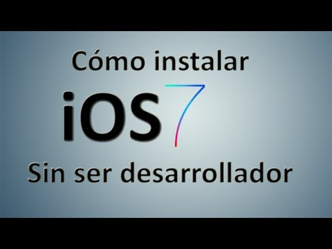 Tutorial - Instalar iOS 7 Beta 3 sin ser desarrollador (iPad. iPhone & iPod Touch)