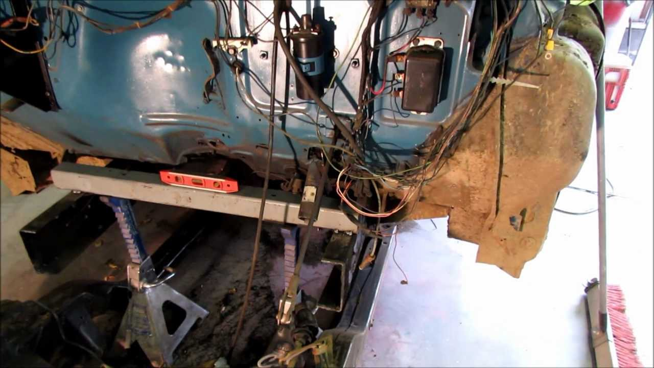 55 Chevy Truck Subframe Install YouTube