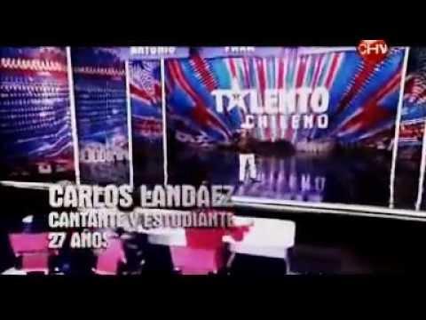 Camaleon Landaez Talento Chileno 2012 Casting