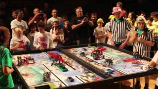 FLL TRASH TREK 2015 QUALIFIER FINAL ROBOT GAME