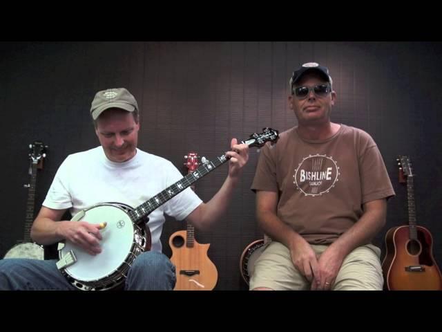 two men, one banjo