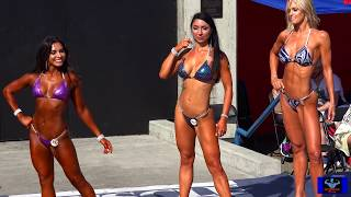 Top 3 Winners Compete in Muscle Beach Overall