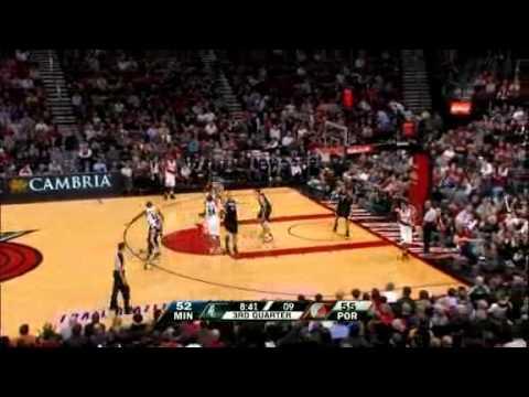 1/17/11 Timberwolves vs Blazers