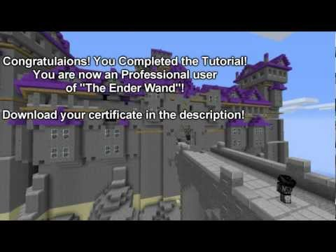 Minecraft Tutorial!- The Ender wand *Combat* Plug-In!