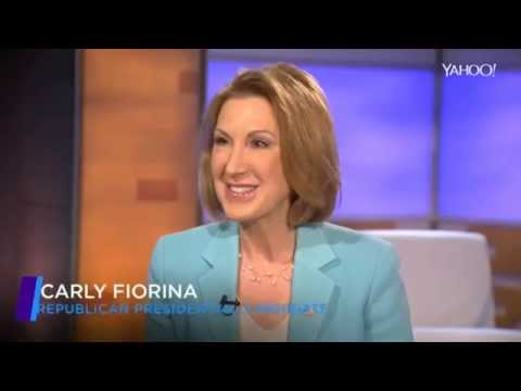 Carly Fiorina interview by Katie Couric, COMPLETE w/Notes on Interviewer Bias