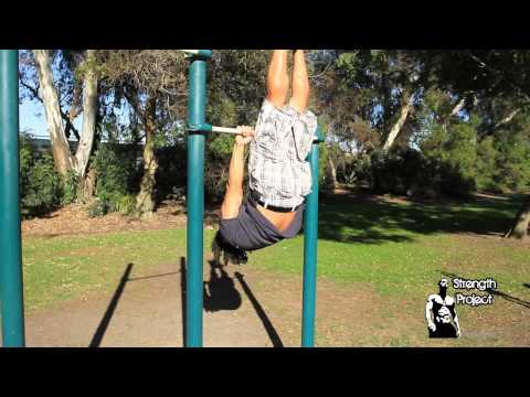 How to do a Front Lever Tutorial- Upper Body Calisthenics Workout Training