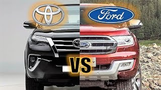 2019 FORD ENDEAVOUR VS TOYOTA FORTUNER - FULL COMPARISON