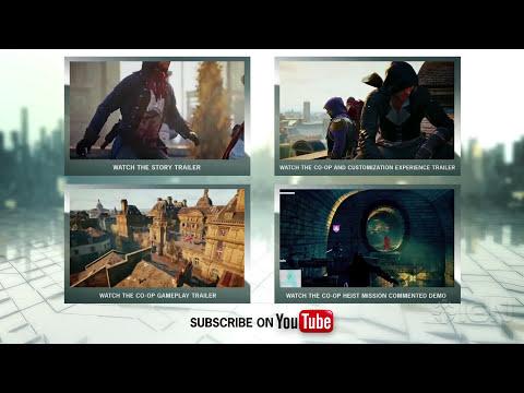 Assassin's Creed Unity Immersive Open-World Activities Trailer