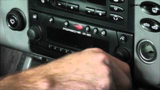 Remove A Stereo With Fingernail Clippers - Porsche / VW / Mercedes