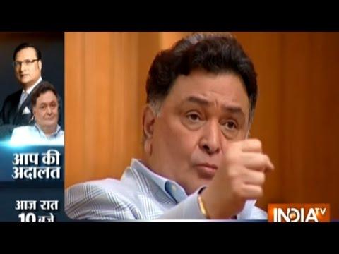 Rishi Kapoor Praises PM Narendra Modi and Smriti Irani in Aap Ki Adalat