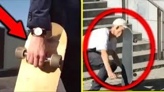 Try not to CRINGE! Worst Skateboarding SLAMS and Embarrassing Skaters