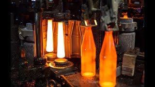 Manufacturing process of a glass bottle 2020 new technologies