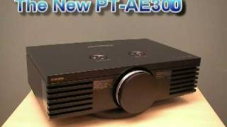 Panasonic PT-AE3000U 1080P HD Projector - (Replaces PT-AE2000U)