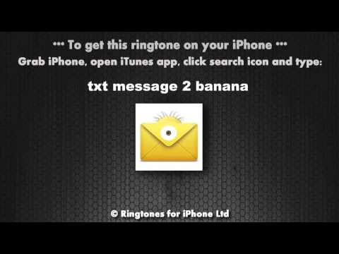 Txt Message 2 Me Despicable Minions Banana Alert Tone video