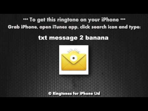 Txt Message 2 Me Despicable Minions Banana Alert Tone video
