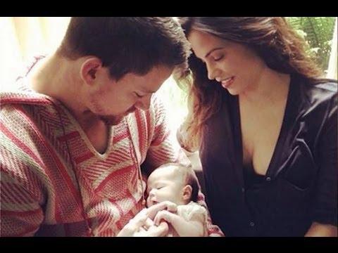 Channing Tatum and Jenna Dewan Tatum Baby - FIRST PHOTO OF EVERLY!