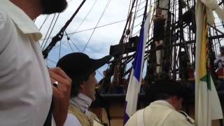 The French tall ship