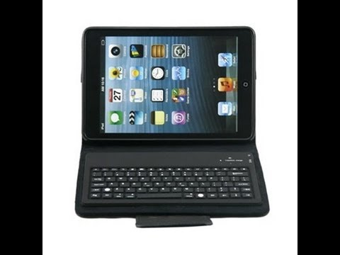 Best iPad mini keyboard case review with detachable Keyboard Bluetooth keyboard for Apple iPad mini