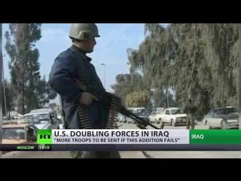 Ground Boots: US to send 1,500 military personnel to Iraq