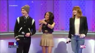 Andrew Garfield Does A Back Handspring - Dance Battle Vs Jamie Foxx