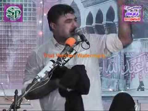 zakir nasir abbas notak 2013-14 yadgar majlis bibi sakina 8th Zilhaj Gulan Khail Mainwali Part 3 thumbnail
