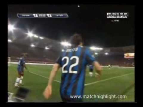 AS Roma - Inter Milan 2-1  27/03/2010 Full Highlights & All Goals