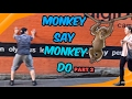 Monkey Say Monkey Do (part 2) *PUBLIC VIDEO*