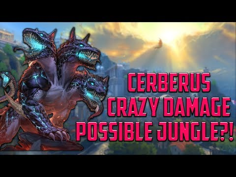 Cerberus: THE MOST OP GUARDIAN TO PLAY IN ALL ROLES - Smite
