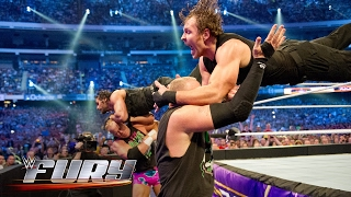 12 double suicide dives that obliterated tag teams: WWE Fury, April 23, 2017