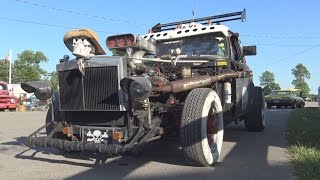 LUV ZILLA - Chevy Luv Based Rat Rod Truck