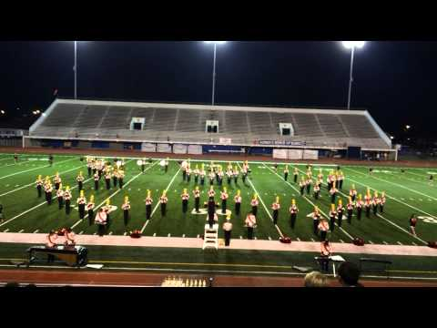 Brother Martin High School Crusader Marching Band : Festival 2014 - 11/05/2014