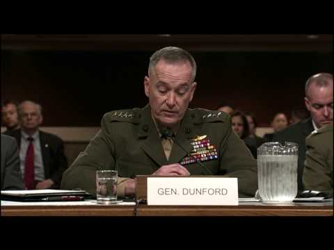 Gen. Joseph F. Dunford | Statement to Senate