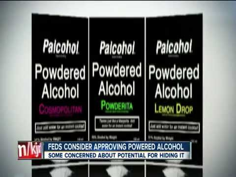 Feds considering powdered alcohol 'palcohol' but some concerned about dangers1