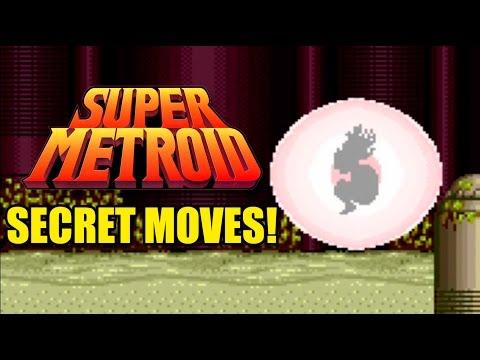 Super Metroid  Secret Moves!