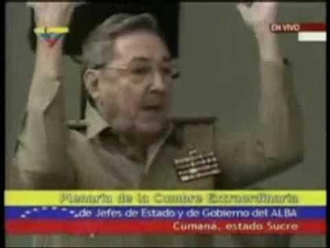 Raúl Castro y Pánfilo