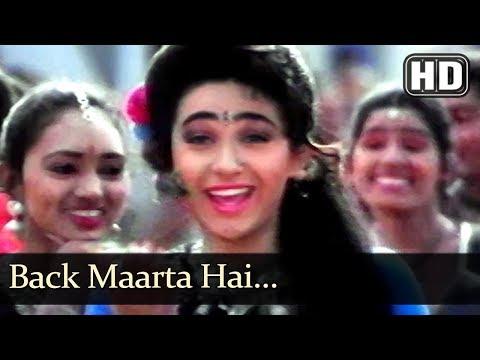 Back Maarti Hai (HD) - Police Officer Song - Karishma Kapoor - Jackie Shroff - Filmigaane