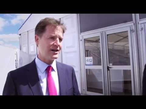 Nick Clegg - Why should we Catapult the UK's manufacturing industry?