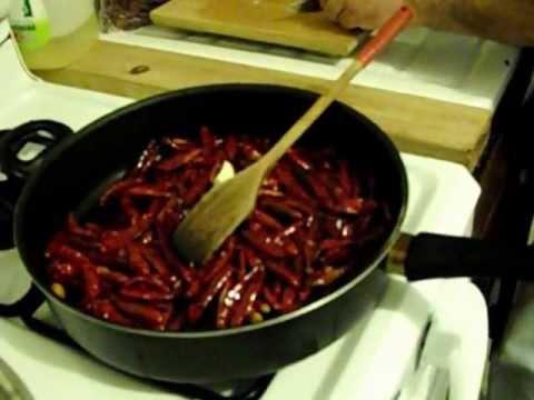 carne de puerco en chile rojo