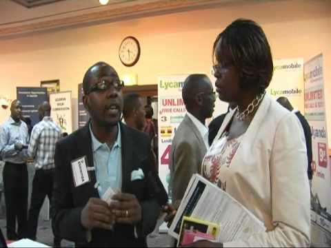 Mr. Mbazira of Gifted Talented at the Convention