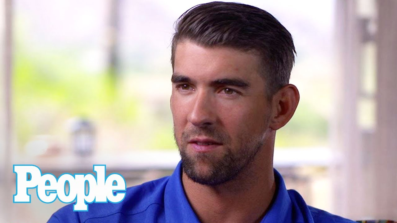 Michael Phelps Talks Diving With Sharks, Reveals Plans For A New Shark Tattoo   People NOW   People