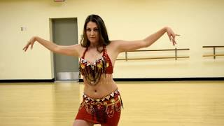 Lebanese Belly Dancer Jacqueline | Red Hot!