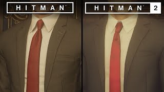 Hitman 2 vs Hitman | Direct Comparison
