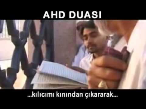 Ahd Duası Türkçe Alt Yazılı