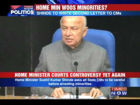 Sushil Kumar Shinde woos minorities?