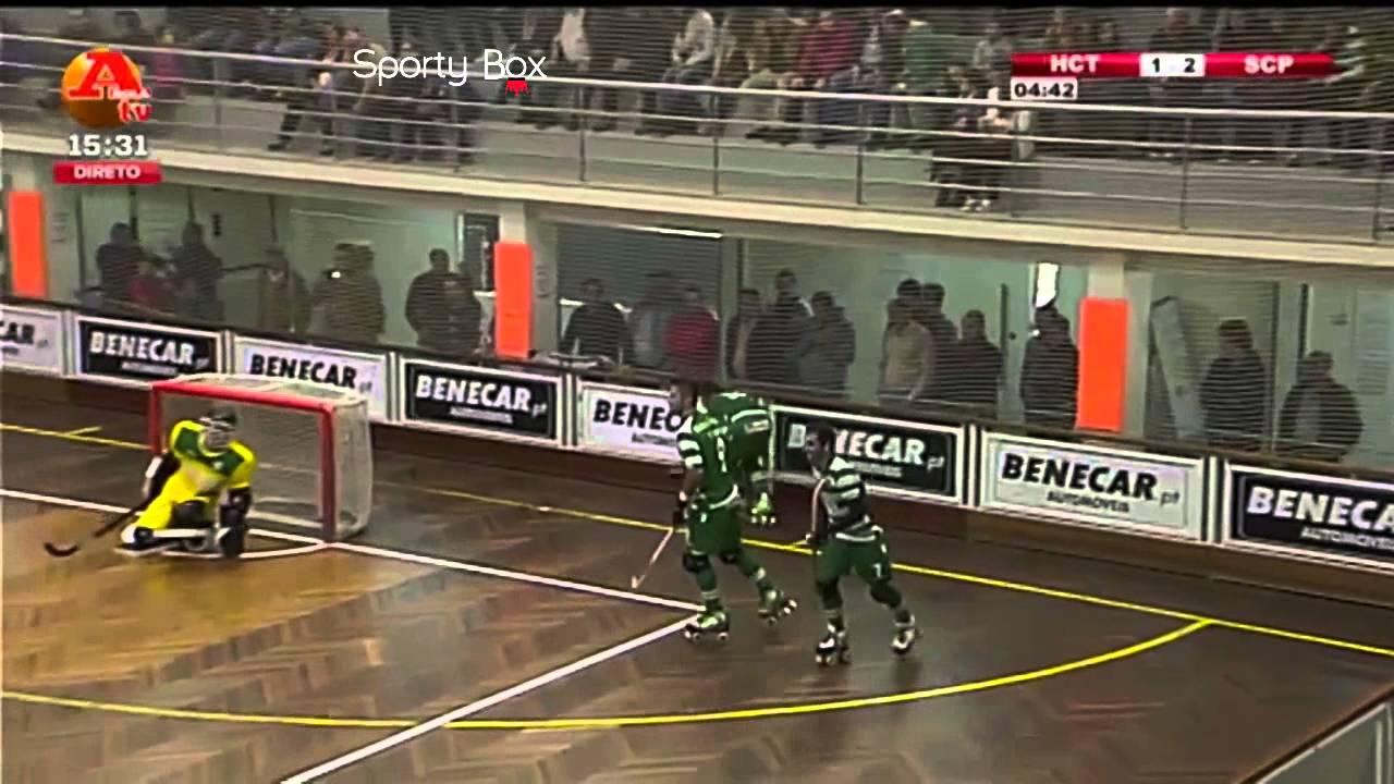 Hoquei Patins :: 06J :: Turquel - 2 x Sporting - 4 de 2014/2015